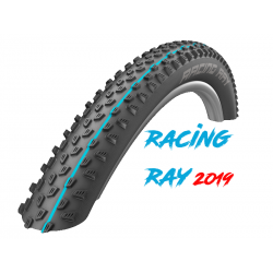 "Cop. Schwalbe Pieg. 26""  (57 559)-(26x2.25) Racing Ray, HS489, SS, TL-Easy, Addix SpG, black"